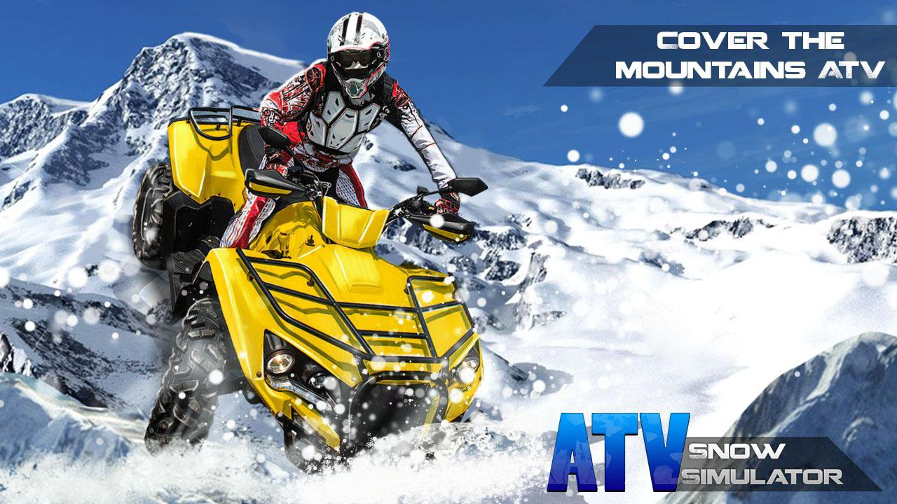 atv snow simulator 1