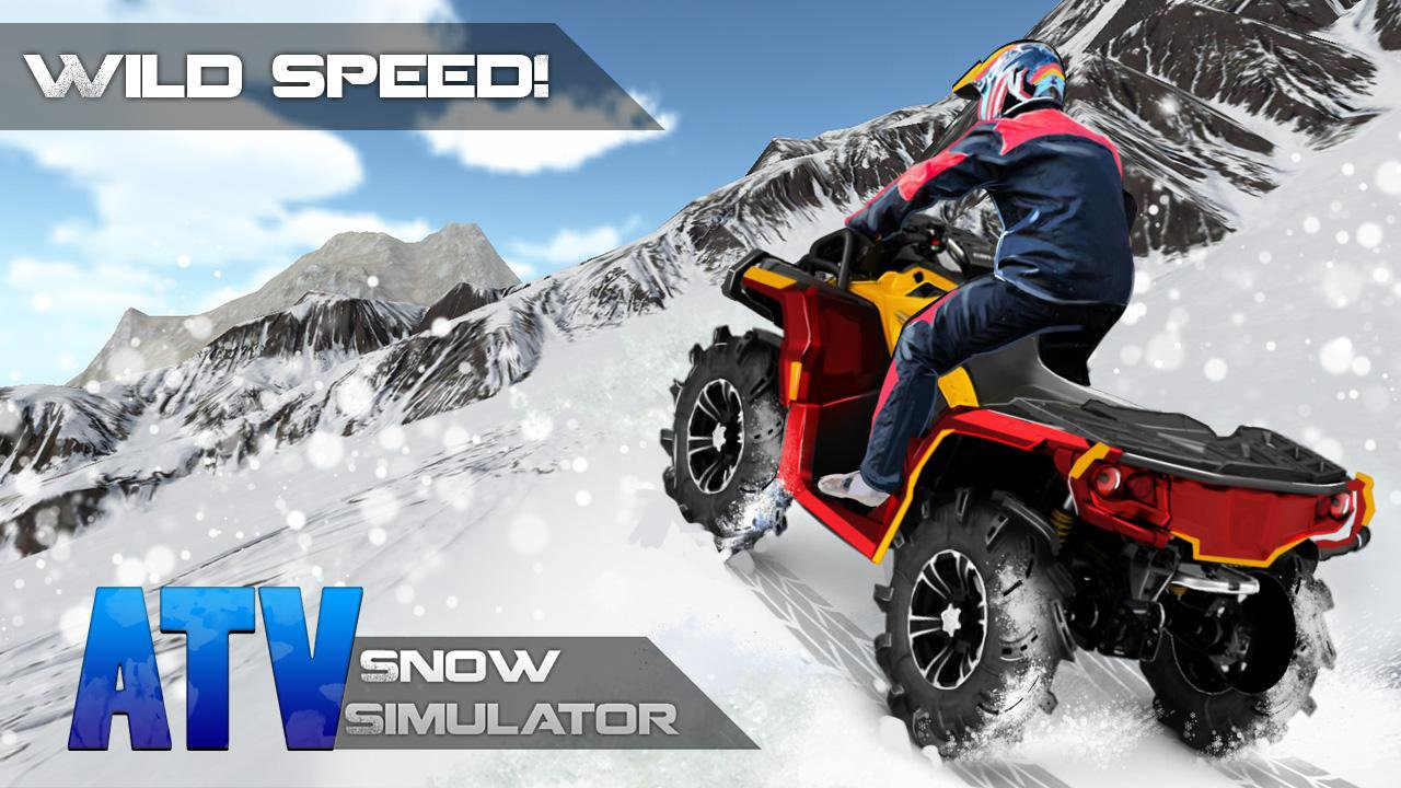 atv snow simulator 3