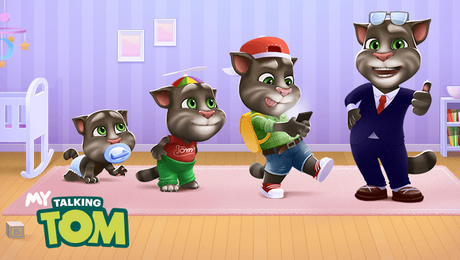 Download My Talking Tom Mod Apk Unlimited Coins And Diamonds