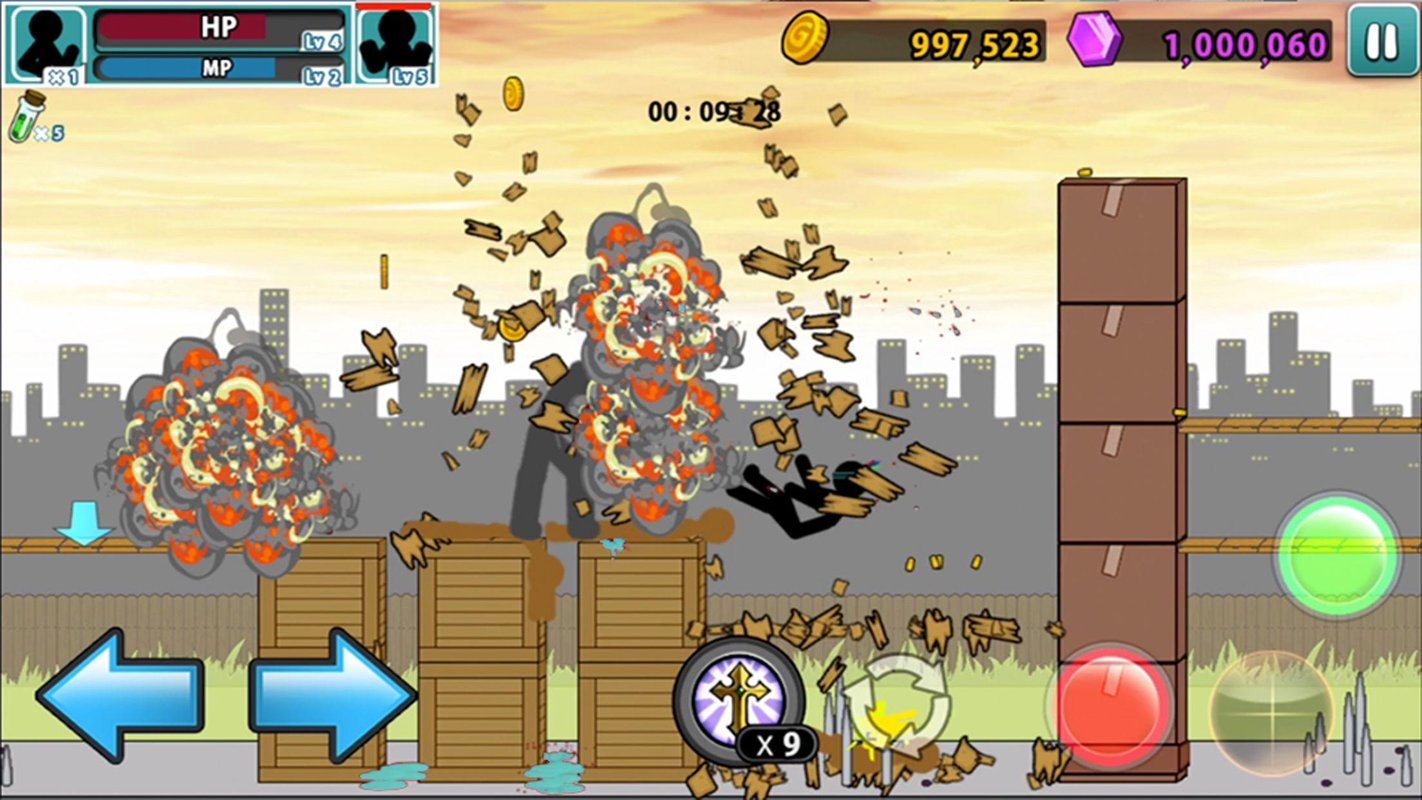 anger of stick 5 zombie 3