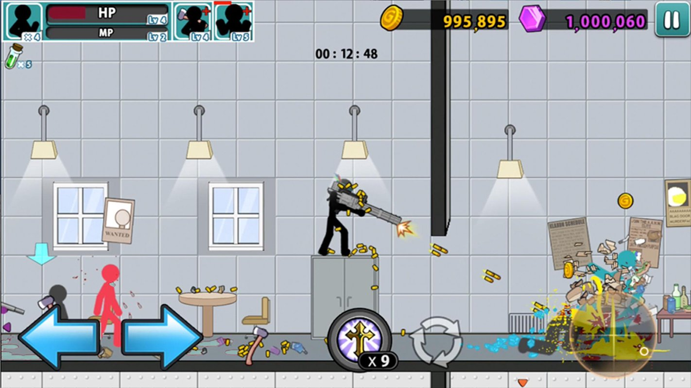 anger of stick 5 zombie 5