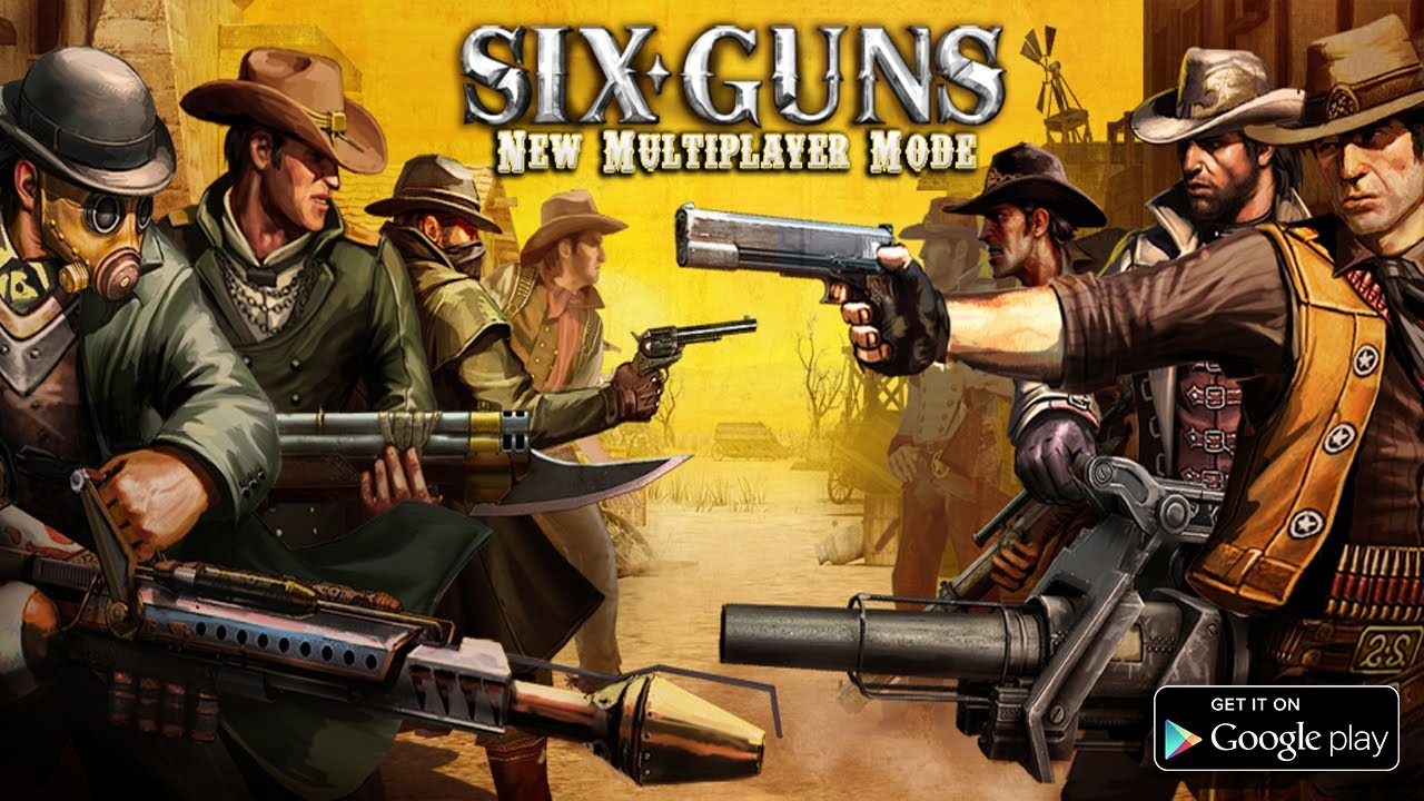 Six guns game download for pc.