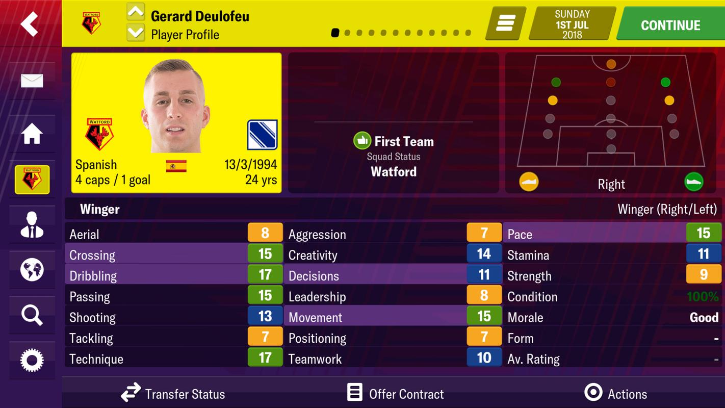 football manager 2019 mobile 1