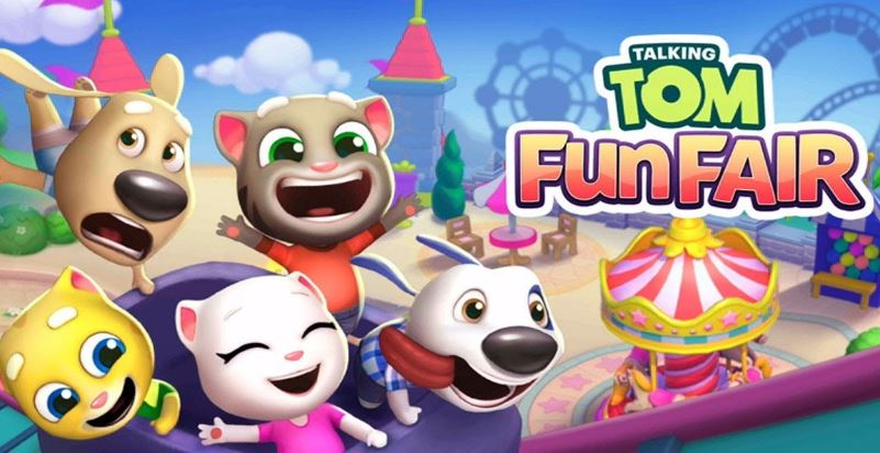 Talking Tom Fun Fair