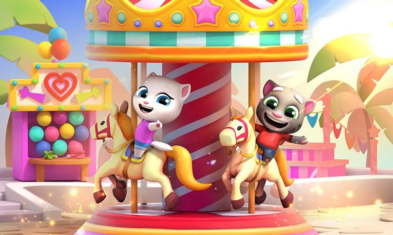 talking tom fun fair 4