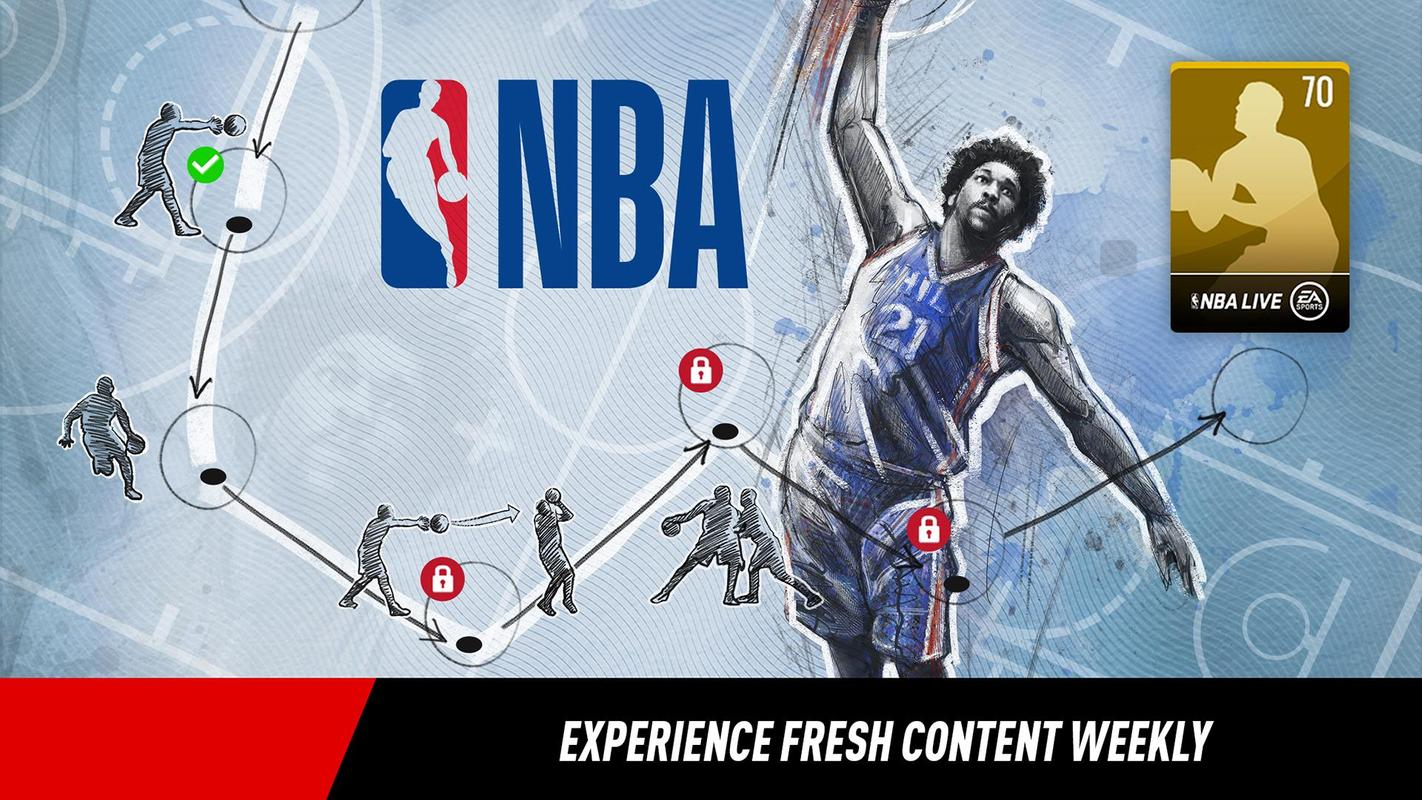 nba live mobile basketball 3