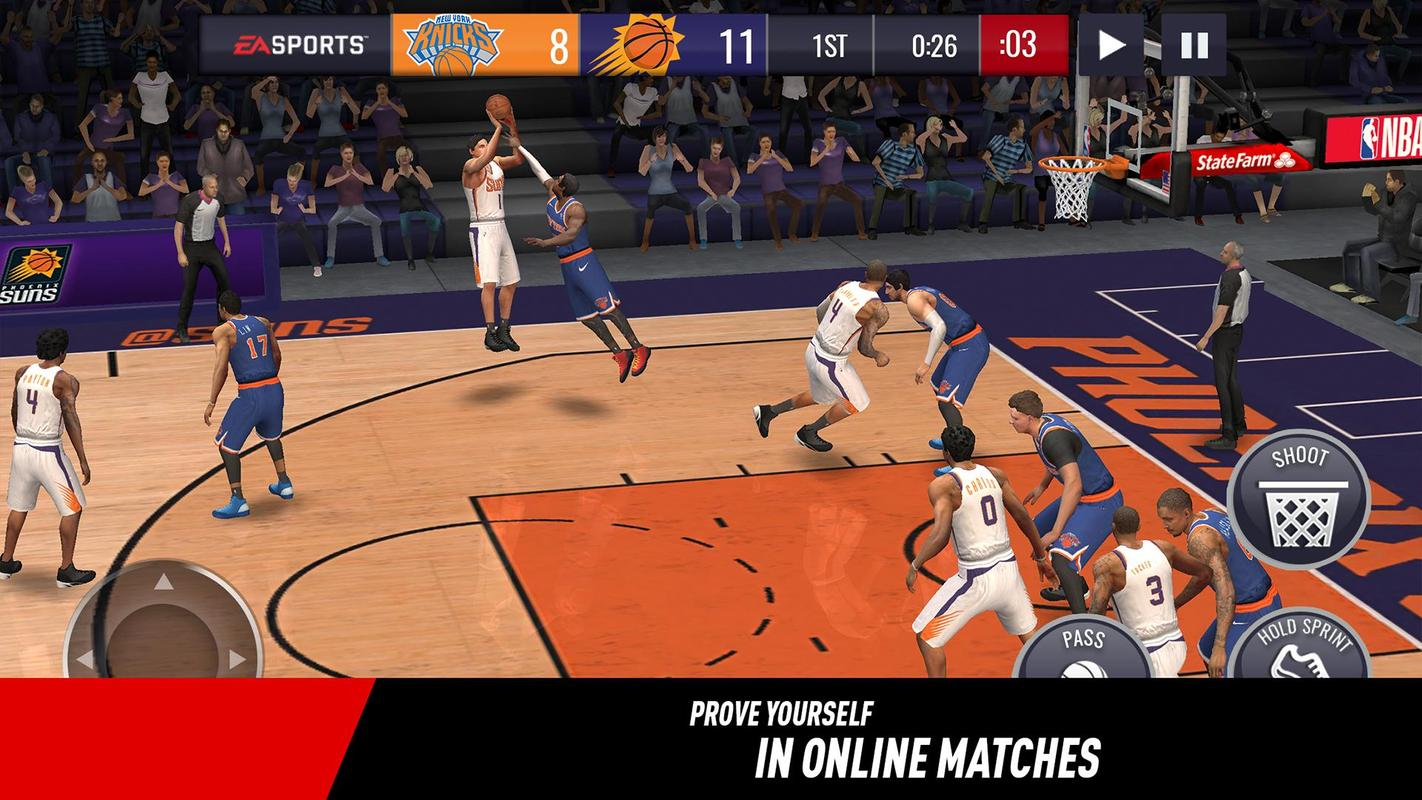 nba live mobile basketball 4
