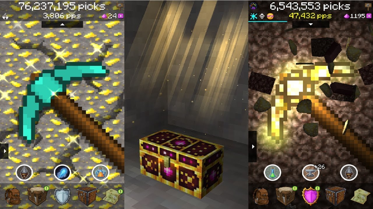 PickCrafter Idle Craft Game