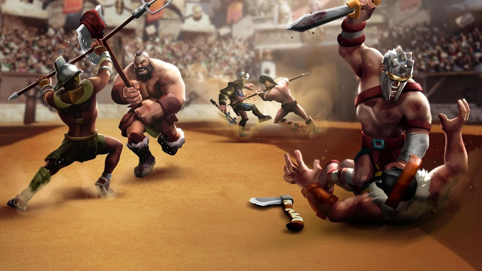 Clash of Gladiator Heroes 2