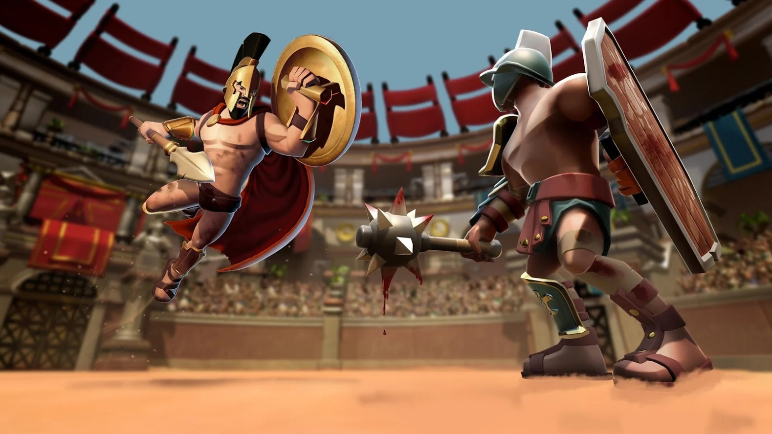 Clash of Gladiator Heroes 3