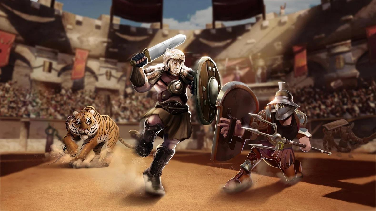 Clash of Gladiator Heroes 4