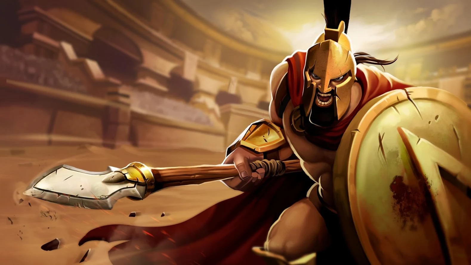 Clash of Gladiator Heroes 5