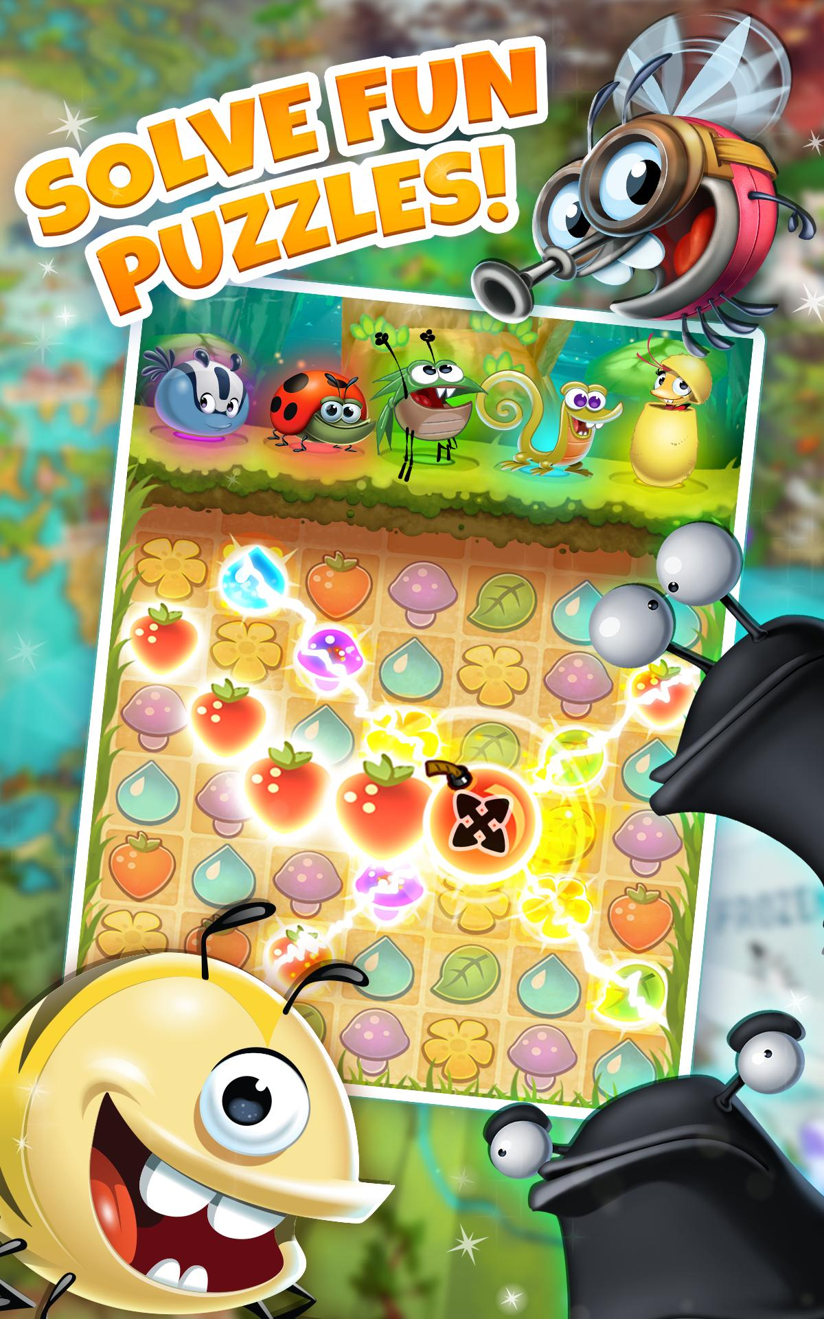 best fiends free puzzle game 1