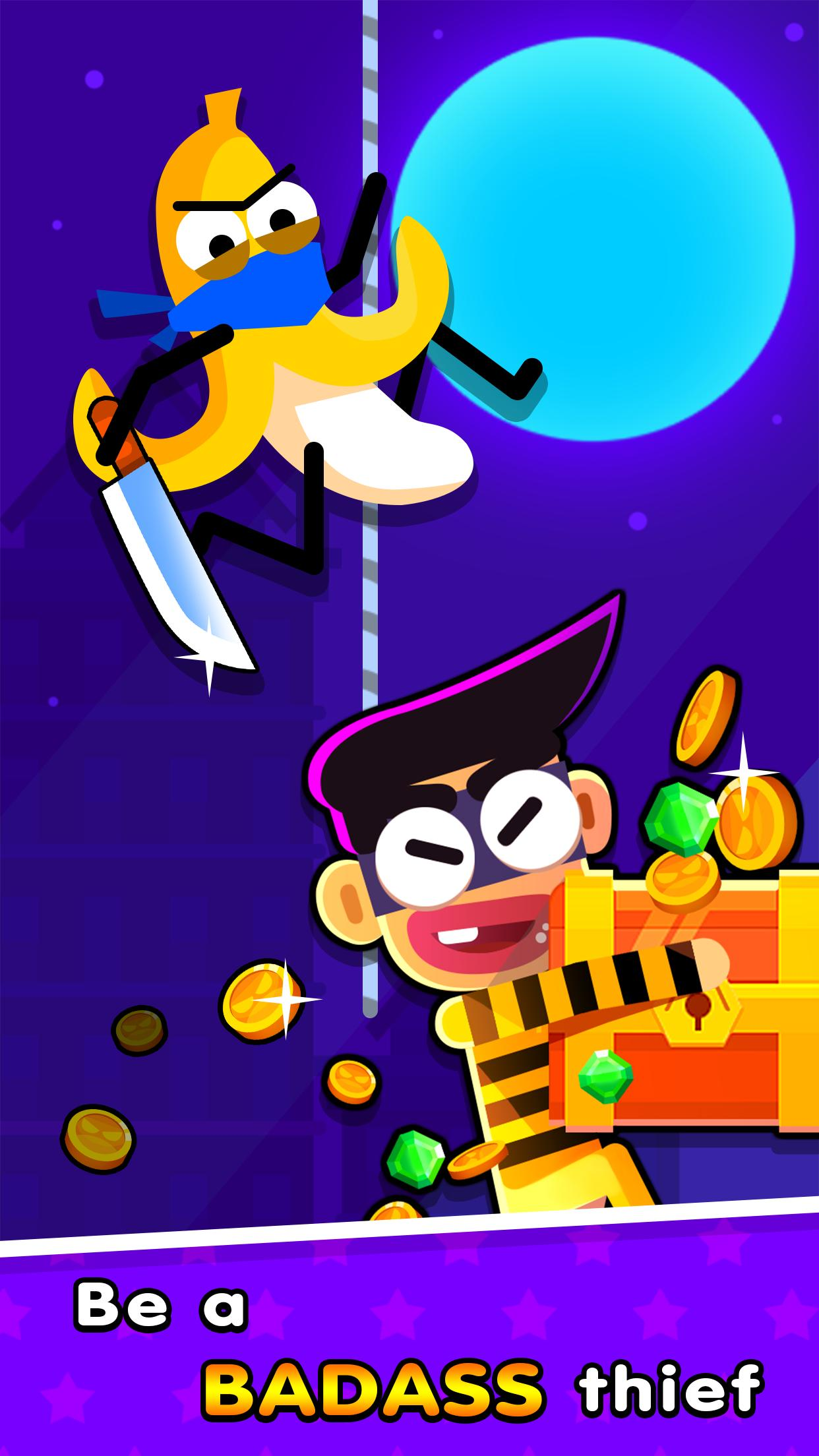 thief rivals race of trouble makers 1