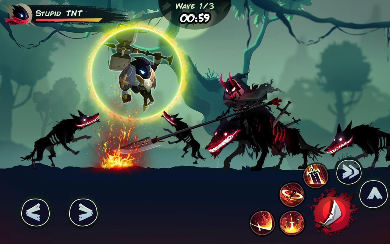 Shadow Stickman: Fight for Justice hack cheat with unlimited resources