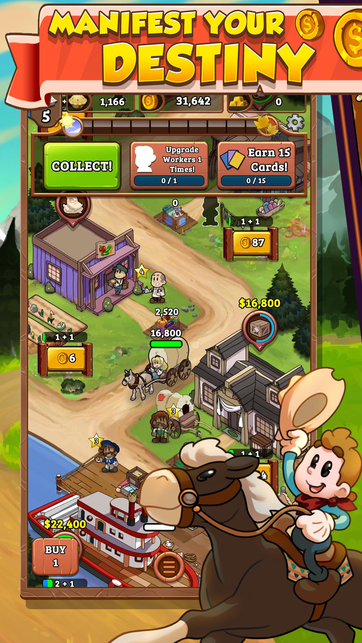 idle frontier tap town tycoon 1