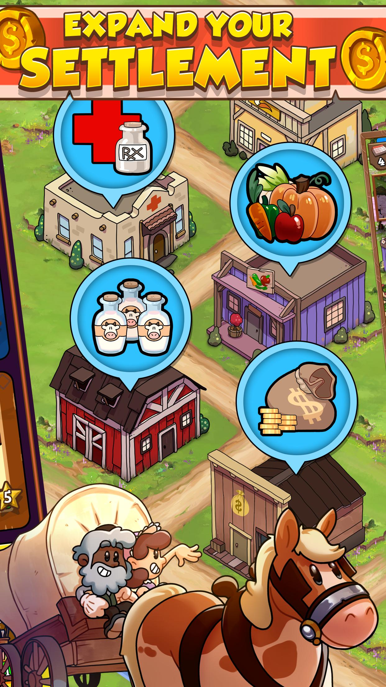 idle frontier tap town tycoon 3