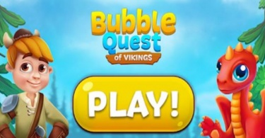 Bubble Quest of Vikings 375x185