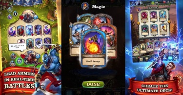 Mighty Heroes Multiplayer PvP Card Battles 347x195